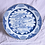 Thumbnail: A mid 18th C Chinese porcelain blue & white plate, c1750