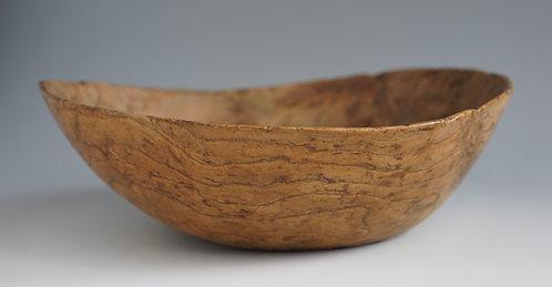 A 19th C or earlier Northeastern Woodlands/Iroquois-Algonquin Burl Bowl, elm