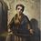 Thumbnail: Agathon Léonard (French 1841-1923) 'Young Hurdy-Gurdy girl', oil on canvas c1870