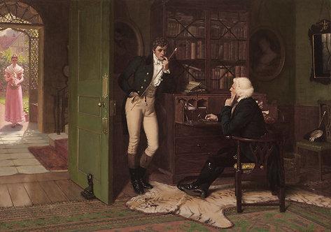 Edmund Blair Leighton (British 1852-1922) Duty, 1883