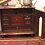 Thumbnail: A William & Mary spice box with eight drawers behind a hinged door