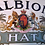 Thumbnail: Early 20thC 'The Albion Hat' lithographed advertising sign, original frame c1900