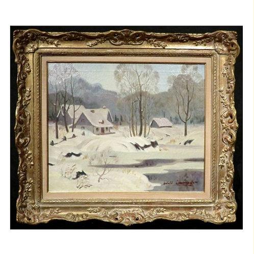 Thomas Harold Beament RCA, PRCA (Canadian, 1898-1984) Winter Landscape