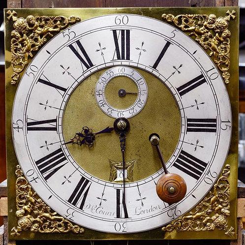A fine & rare William & Mary clock by London maker Daniel LeCompte, c1690