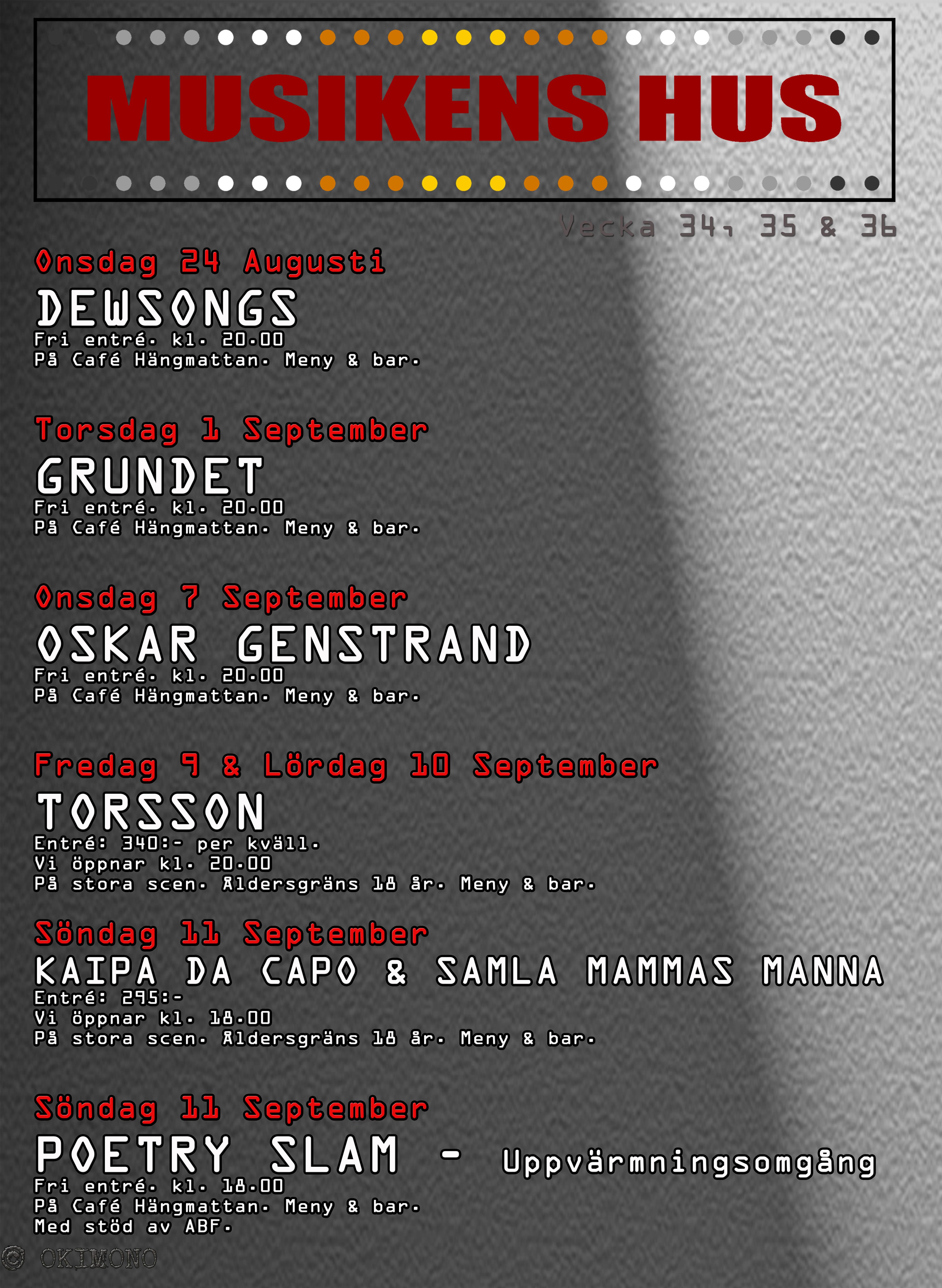 2016 - 34 35 36 Musikens Hus