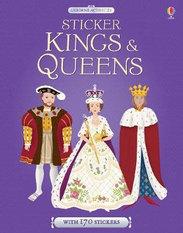 Kinfs & Queen Sticker book