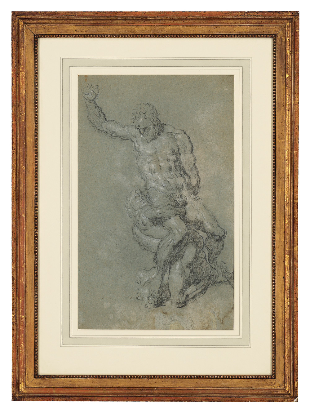 Fine Art at Christies.com. Jacopo Robusti, called Jacopo Tintoretto (Venice 1519-1594) or Studio  Samson slaying the Philistines, after Michelangelo (recto and verso)