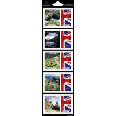 Tintagel Castle Stamp Collection