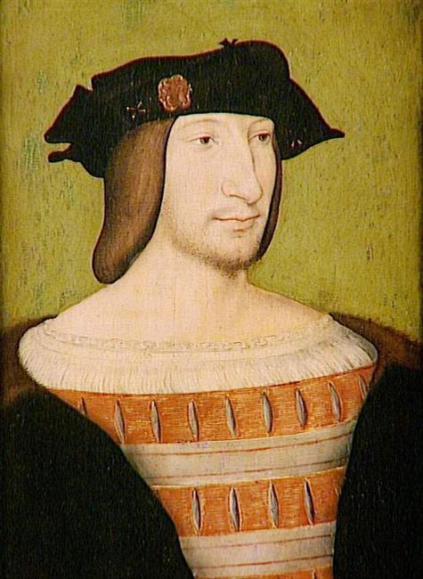 Francis I of France (reigned 1515–1547) (portrait by Jean Clouet, Louvre Museum, Paris) portrait painting