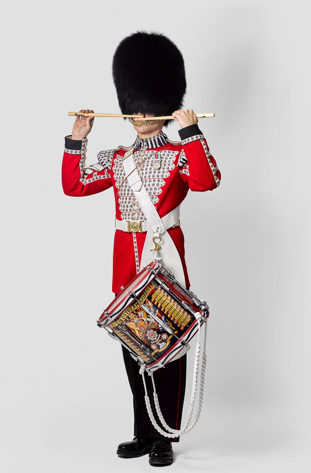 Coldstream Guards Bandsmen, photography by Rory Lewis