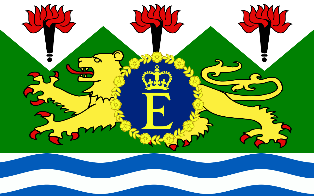 Royal Standard of Sierra Leone (1961-71)