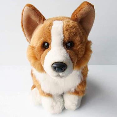 Welsh Pembroke Corgi cuddly toy