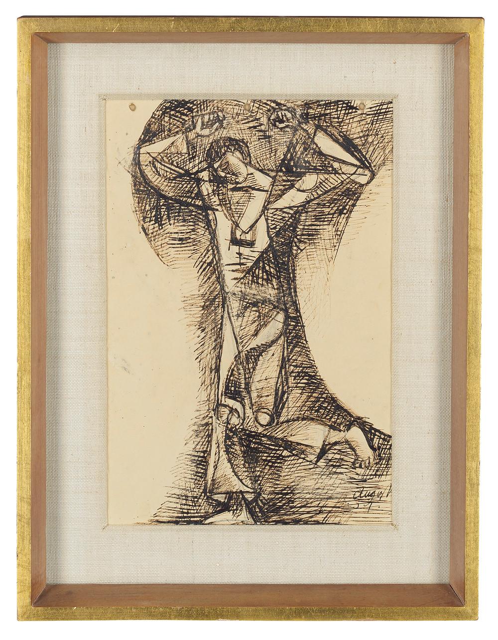 John Craxton, R.A. (1922-2009)   Study of a Dancer . royal family history. sale at Christies.com