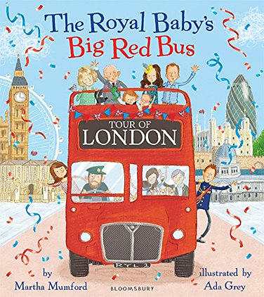 The Royal Baby's Big Red Bus