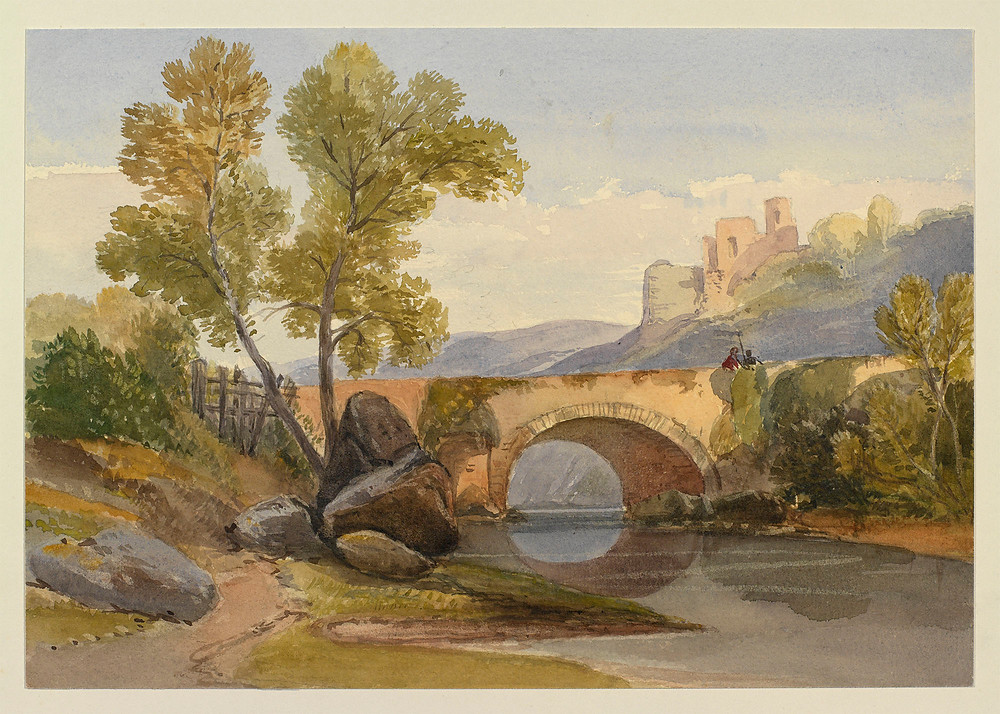 A river landscape by Queen Alexandra,  Royal Collection Trust/© Her Majesty Queen Elizabeth II 2018