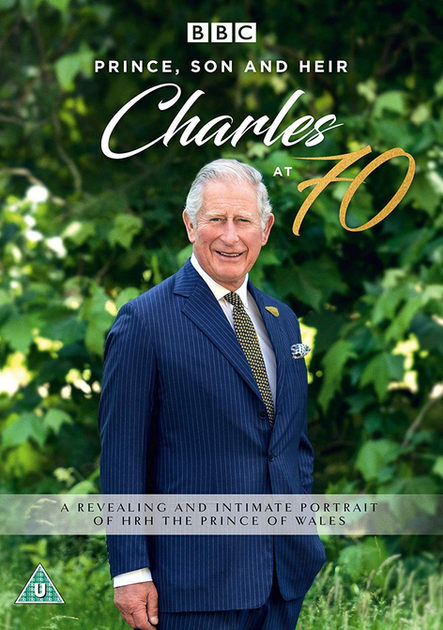 Prince, Son and Heir: Charles at 70  BBC DVD