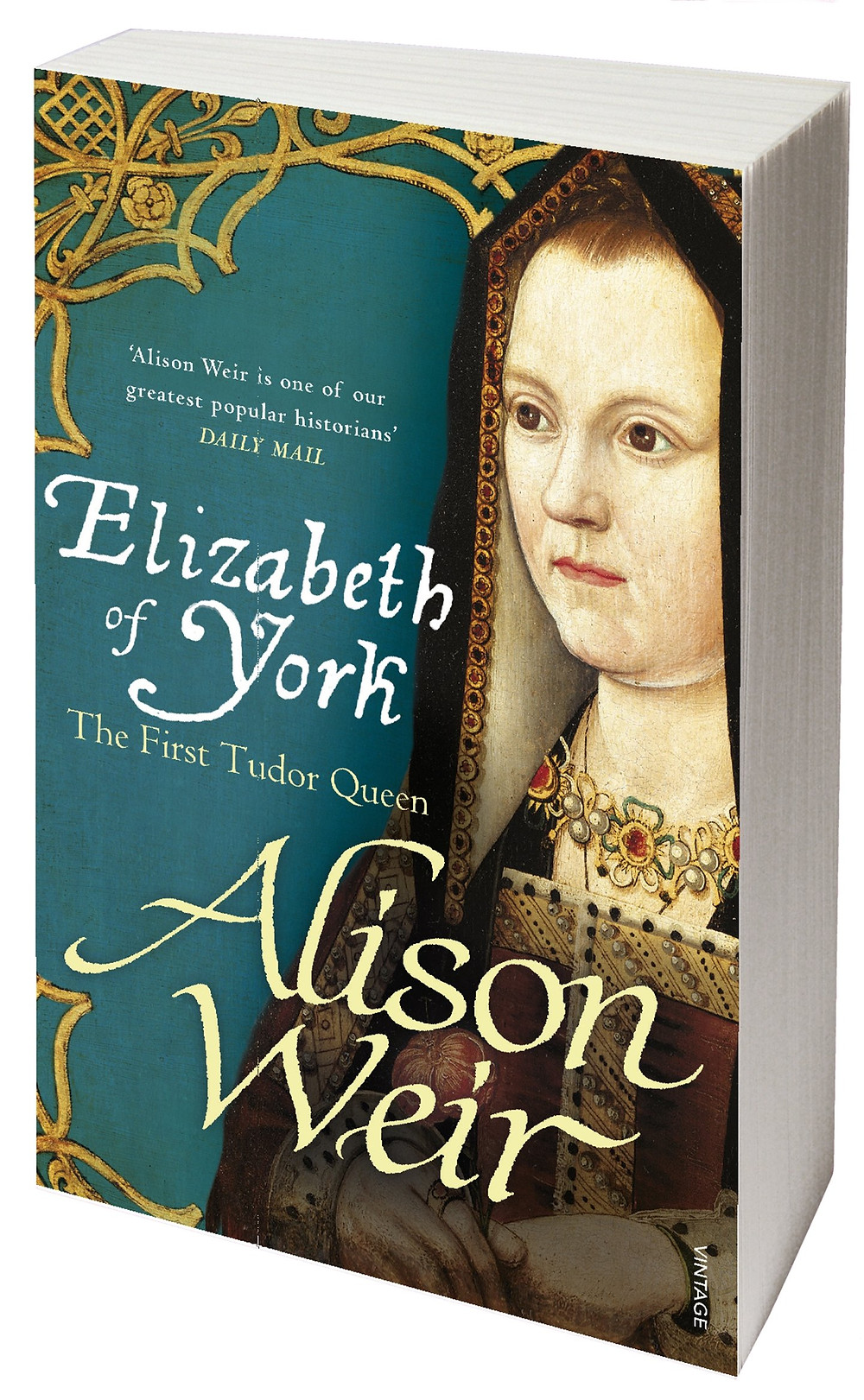 Elizabeth of York : The First Tudor Queen book cover. Alison Weir