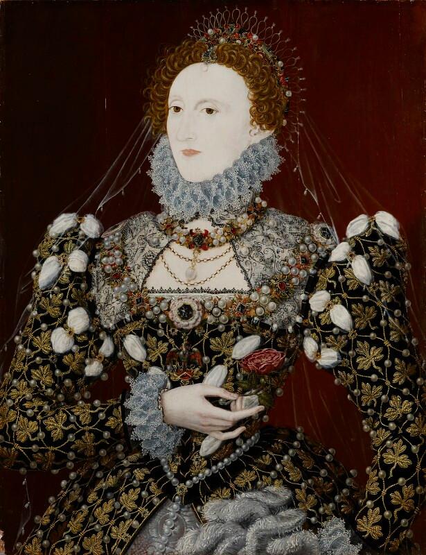 Elizabeth I associated with Nicholas Hilliard. © National Portrait Gallery, London