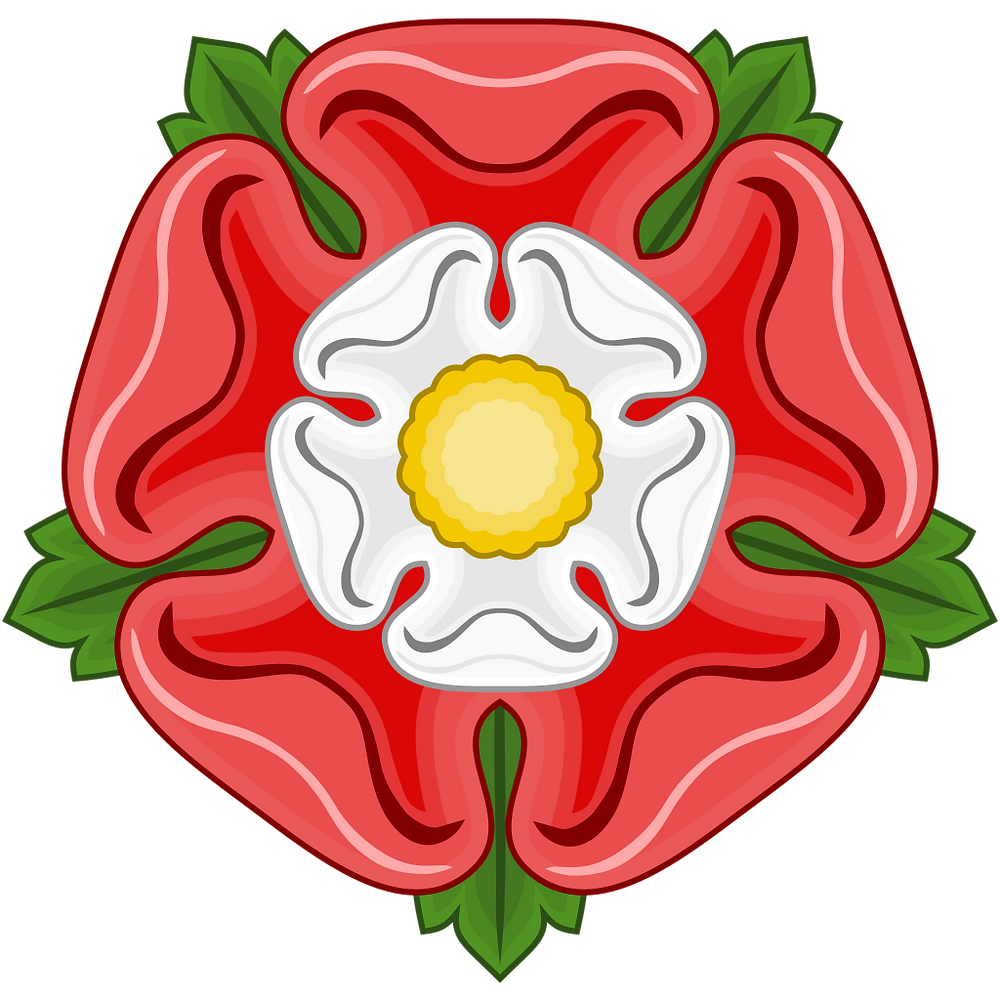 The Tudor Rose, symbol of the House of Tudor. Royal history, British Monarchy