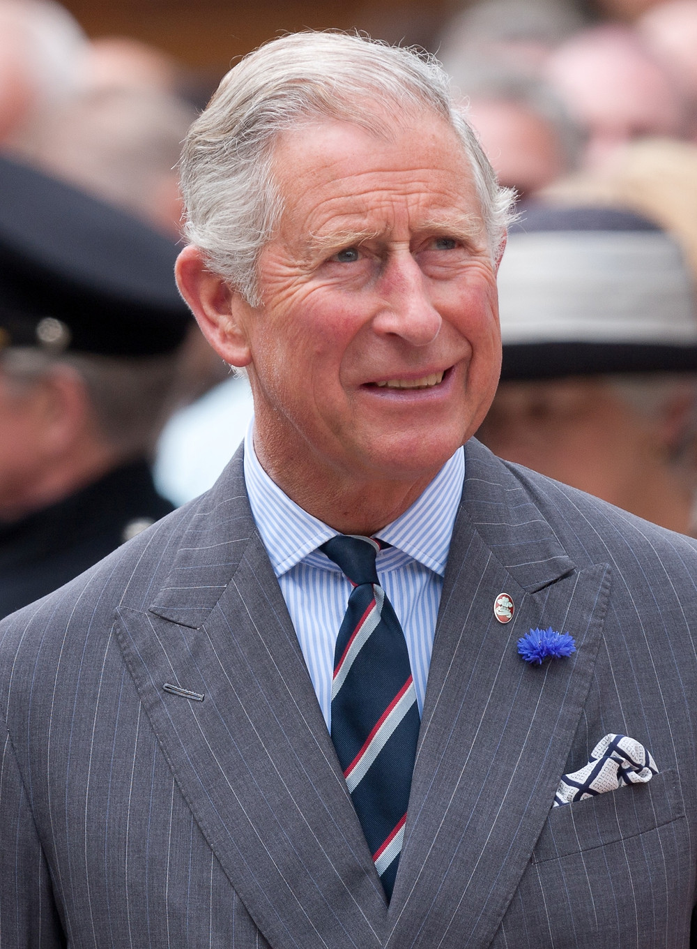 Prince Charles, the Prince of Wales, eldest son of Queen Elizabeth II & Prince Philip