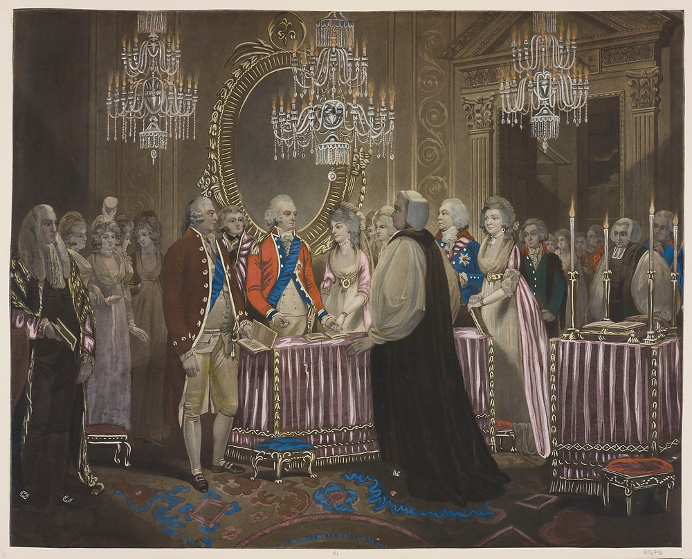 Marriage of Charlotte, Princess Royal and Frederick I of Württemberg, Royal Collection Trust/© Her Majesty Queen Elizabeth II 2018