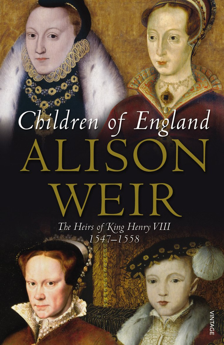 Children of England paperback book by Alison Weir