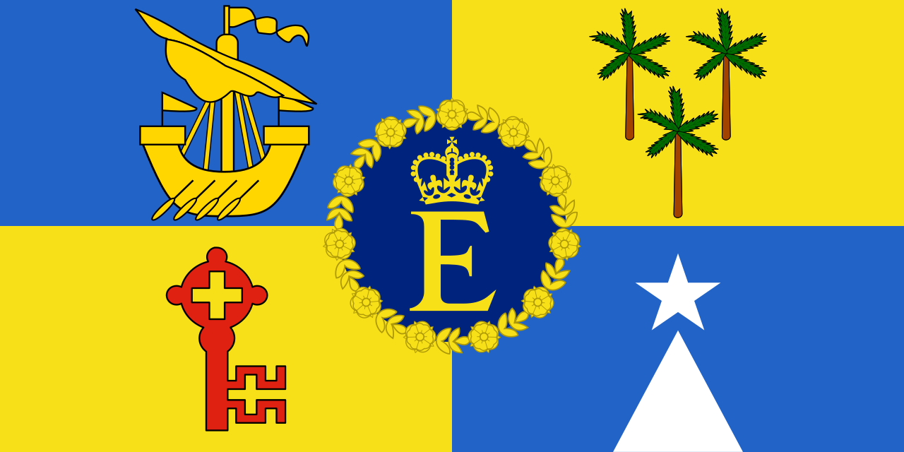 Royal Standard of Mauritius (1968-92)