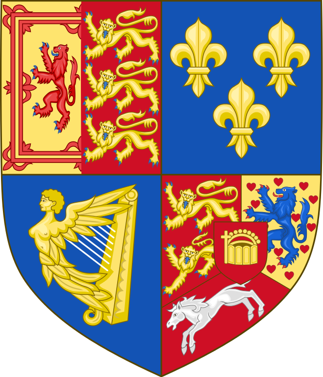 George I shield of arms