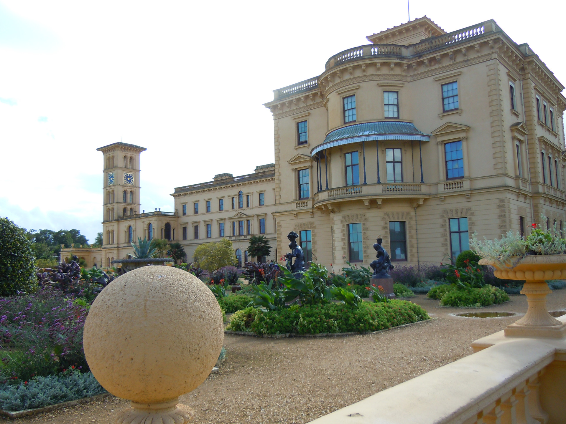 Osborne House on the Isle of Wight. former Home of Queen Victoria