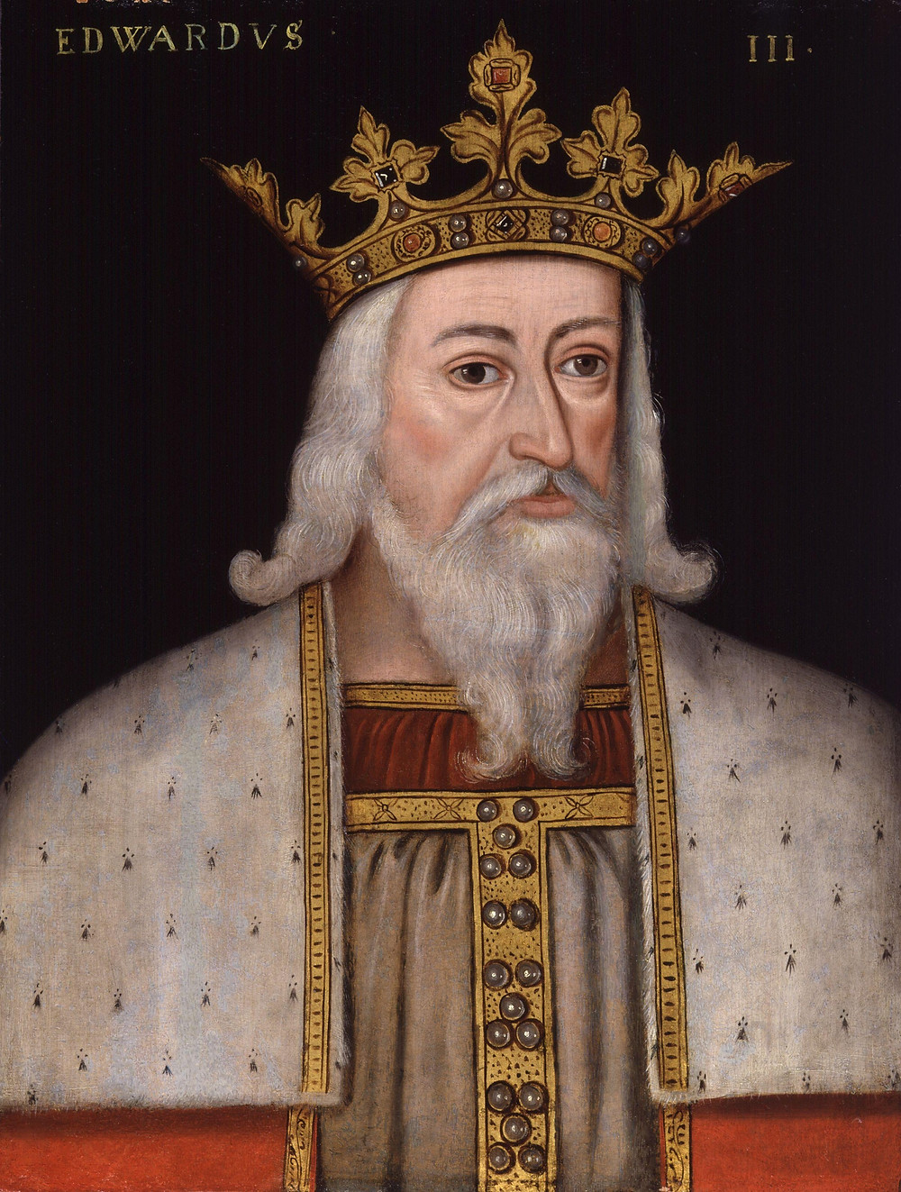 King Edward III, by unknown artist from the end of the 16th century.