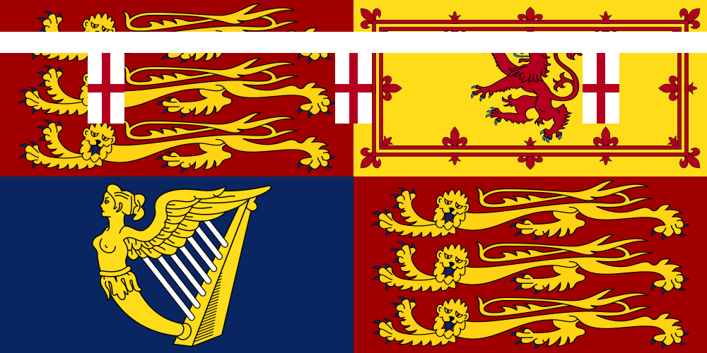 Royal Standard of Princess Mary, Princess Royal and Countess of Harewood
