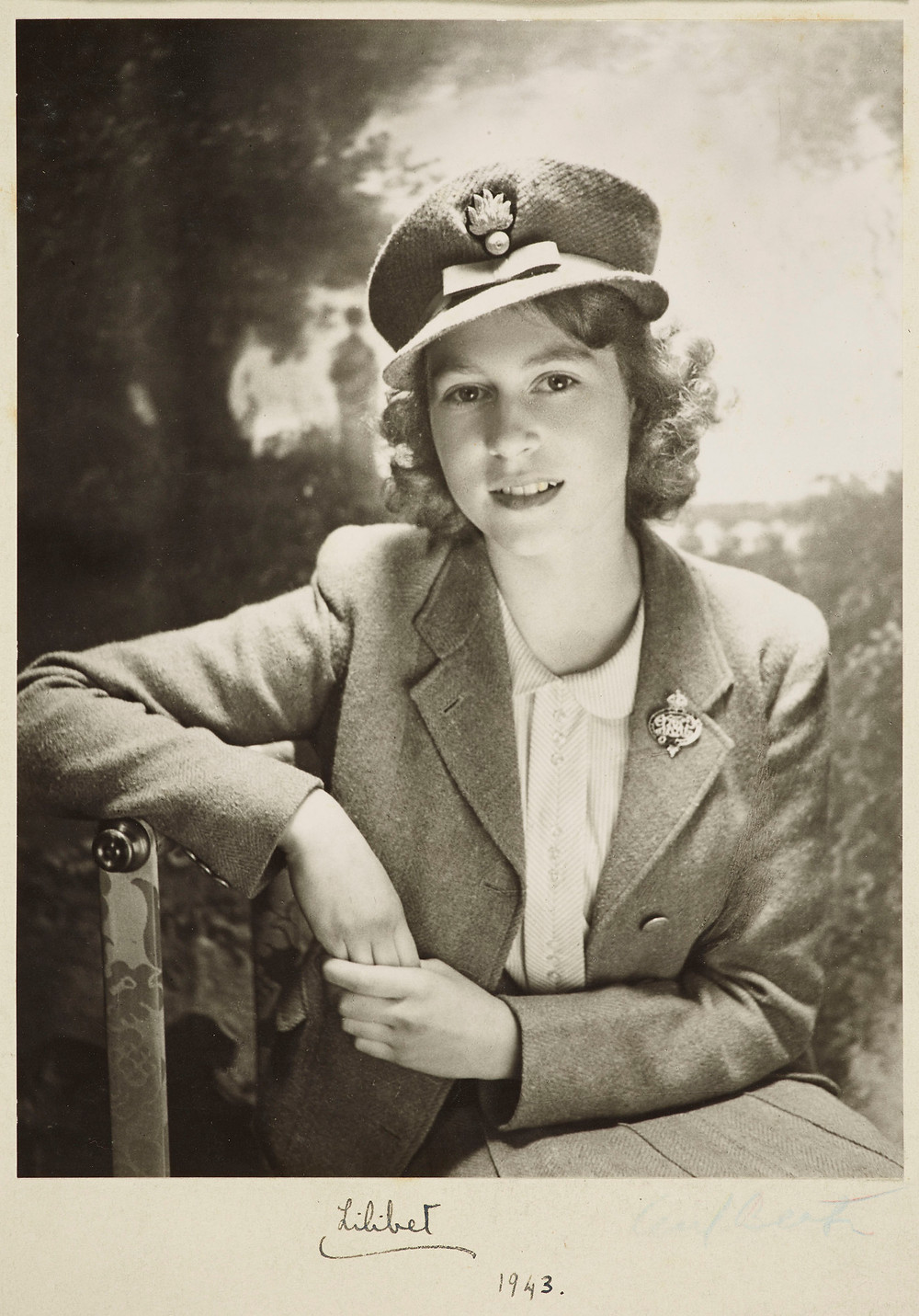 Princess Elizabeth circa 1943, by Cecil Beaton at the Royal Collection Trust/(c) Her Majesty Queen Elizabeth II 2018