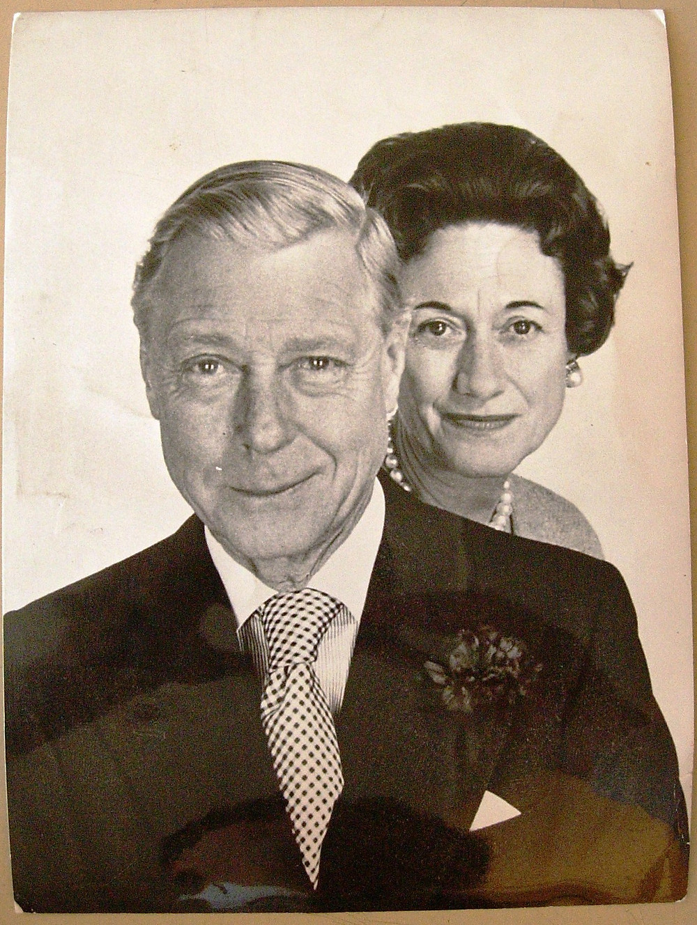 Duke & Duchess of Windsor, 1961 by Cecil Beaton. Royal Collection Trust/© Her Majesty Queen Elizabeth II 2020. The Duke of Windsor was the King of Great Britain in 1936 as Edward VIII