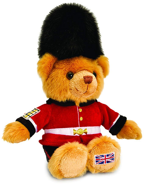 Guardsman cuddly toy