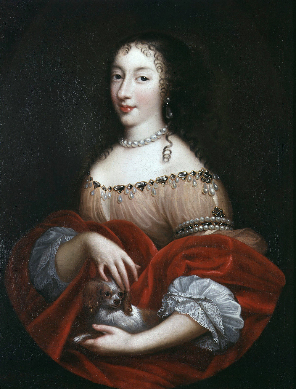 Mignard, possibly after - Henrietta of England - National Portrait Gallery