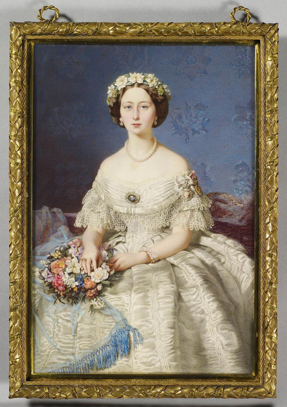 Princess Alice by EDUARDO DE MOIRA 1860 Royal Collection Trust/© Her Majesty Queen Elizabeth II 2020