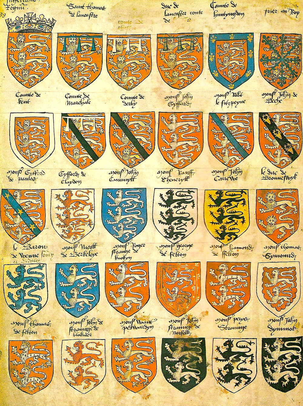 By Unknown author (The Oxford Guide to Heraldry) [Public domain], via Wikimedia Commons