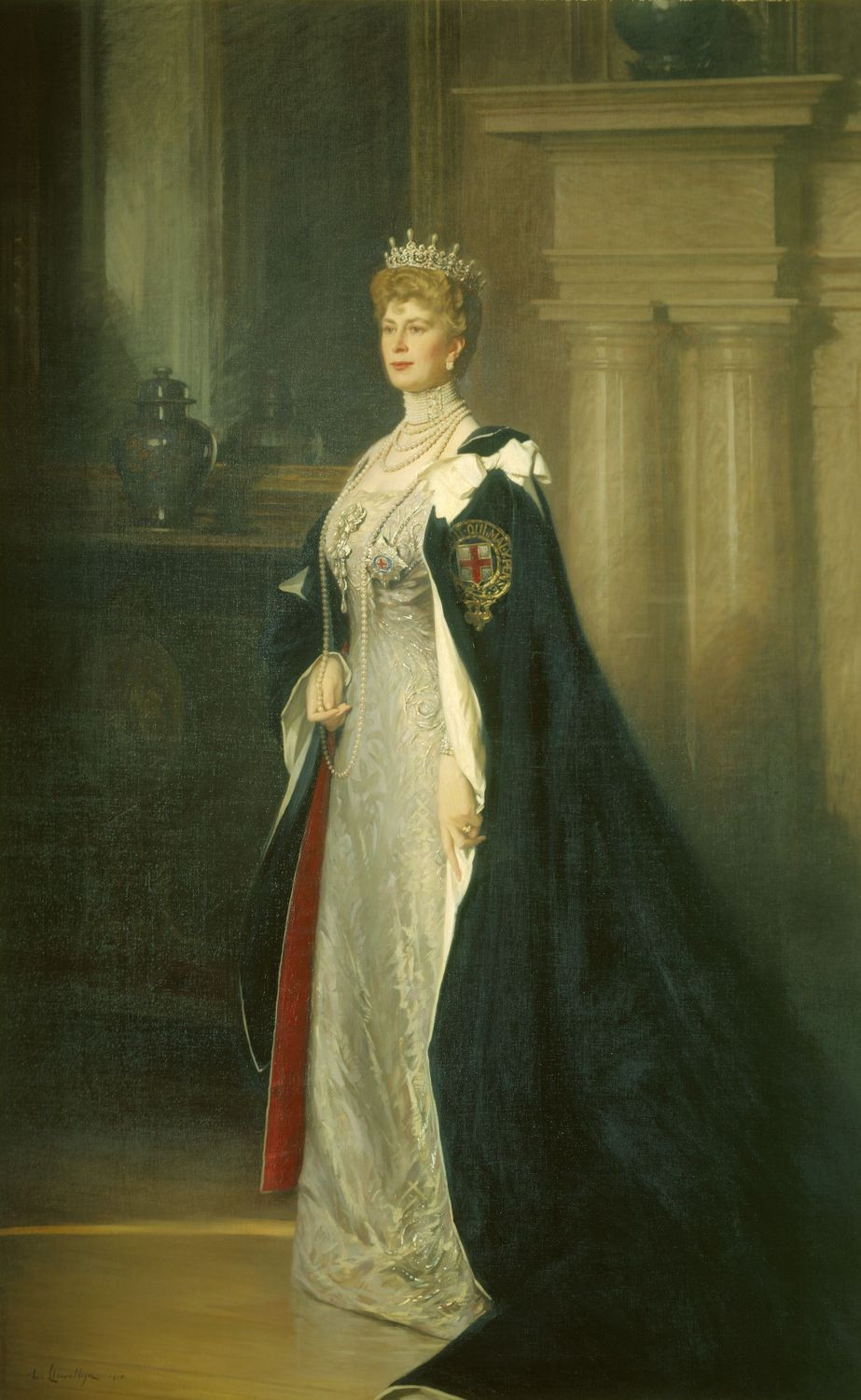 Queen Mary postrait painting