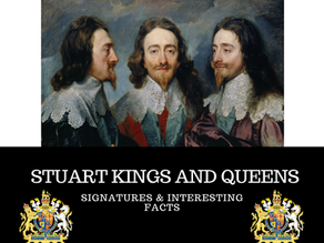 Stuart Kings and Queens