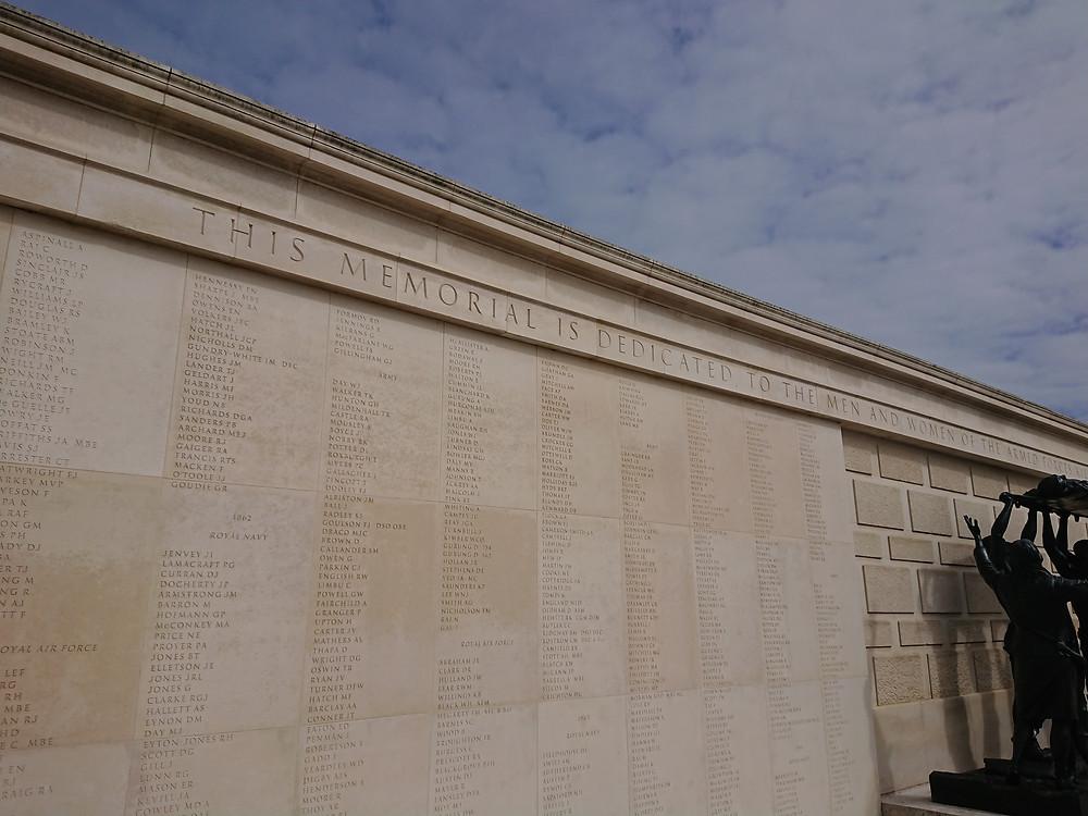 The National Memorial Arboretum - Armed Forces Memorial