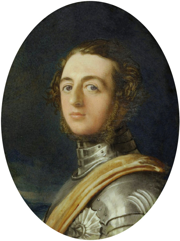 portrait painting of Henry Beresford 3rd Maquess of Waterford