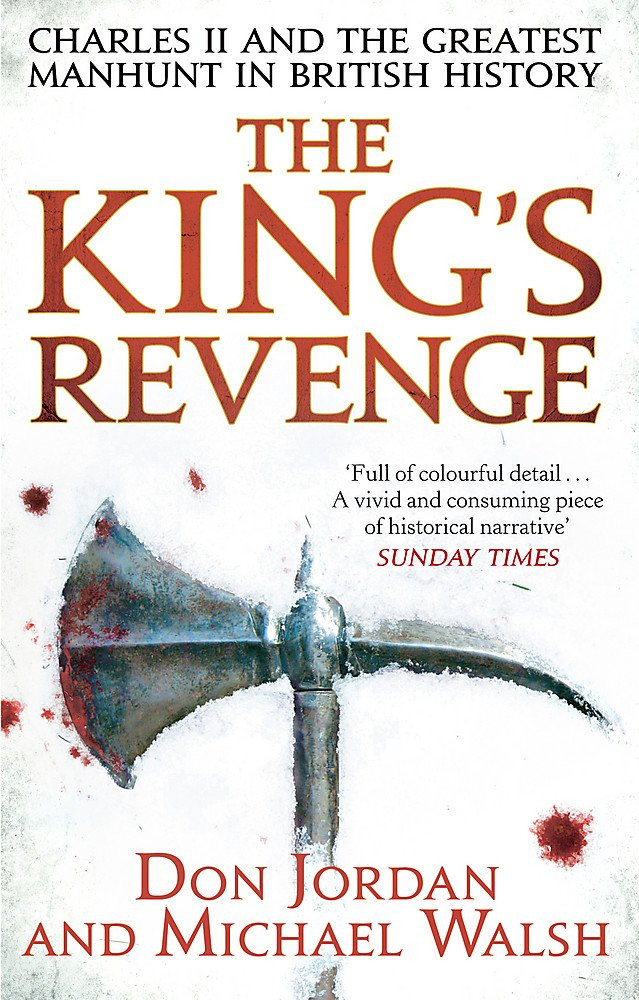 The King's Revenge by Don Jodan and Michael Walsh, paperback book