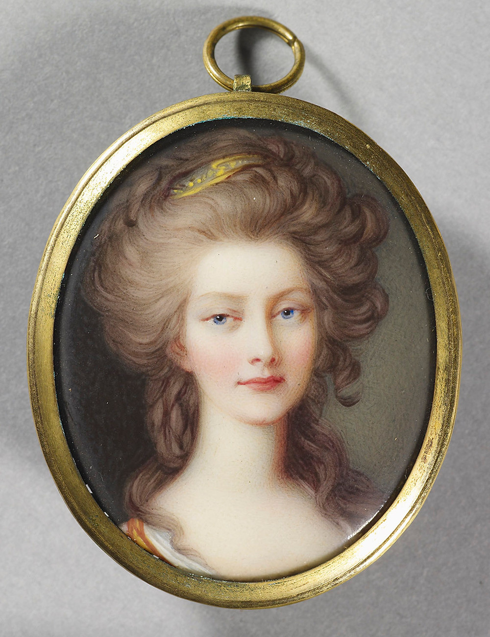 Charlotte, Princess Royal, later Queen of Württemberg, by Henry Pierce Bone, Royal Collection Trust/© Her Majesty Queen Elizabeth II 2018