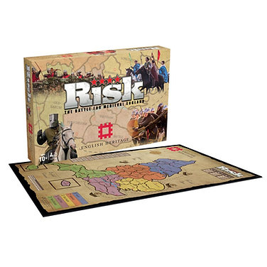 Risk Game - English Heritage Edition