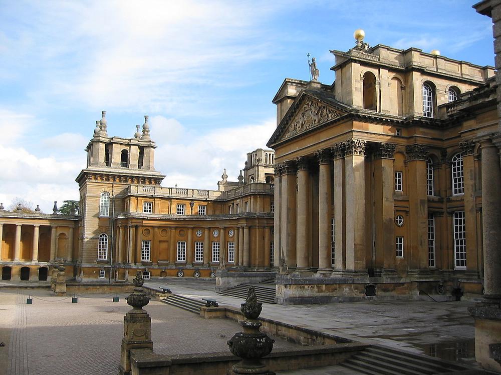 Blenheim Palace, , birthplace of Winston Churchill