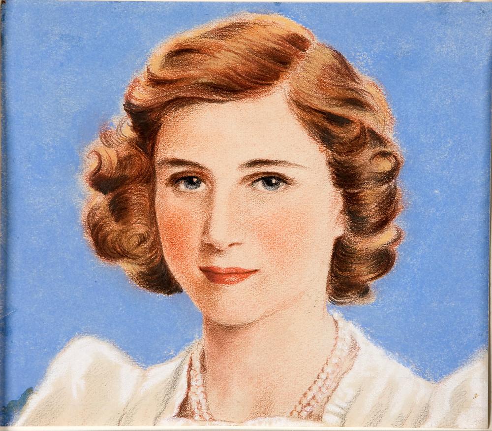 Princess Margaret portrait drawing source - William Timym [Public domain], via Wikimedia Commons