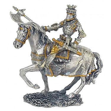 Mounted knight with axe model