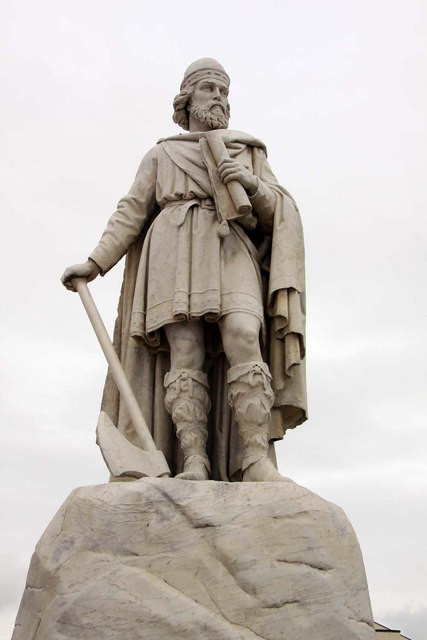 Statue of Alfred the Great at Wantage, Oxfordshire