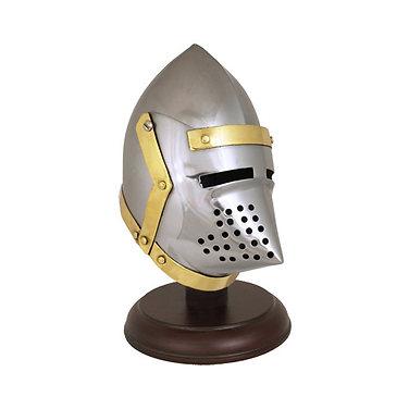 Mini Sugarloaf helmet on stand