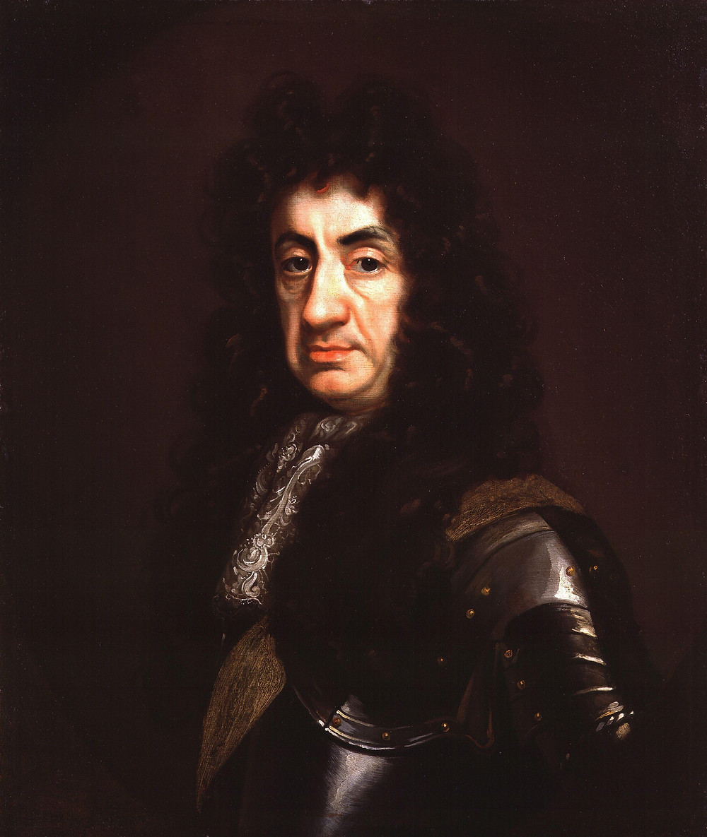Charles II, king of England Portrait by John Riley, c. 1680–1685